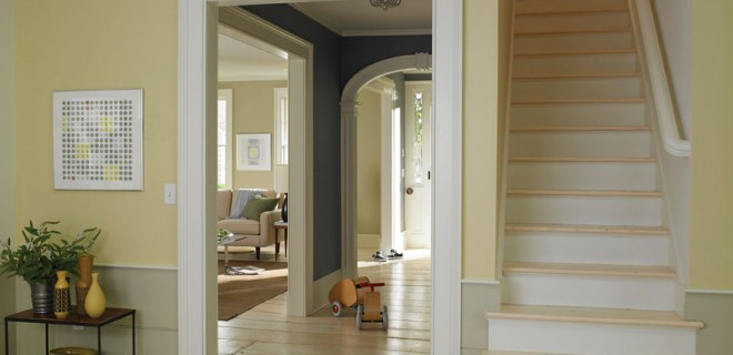 Winter interior house painting tips the home improvement for Interior house painting tips